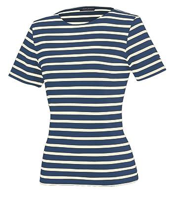 Saint James Etrille - Streifenshirt - Bretagne-Shirts - Marine/Ecru (34)