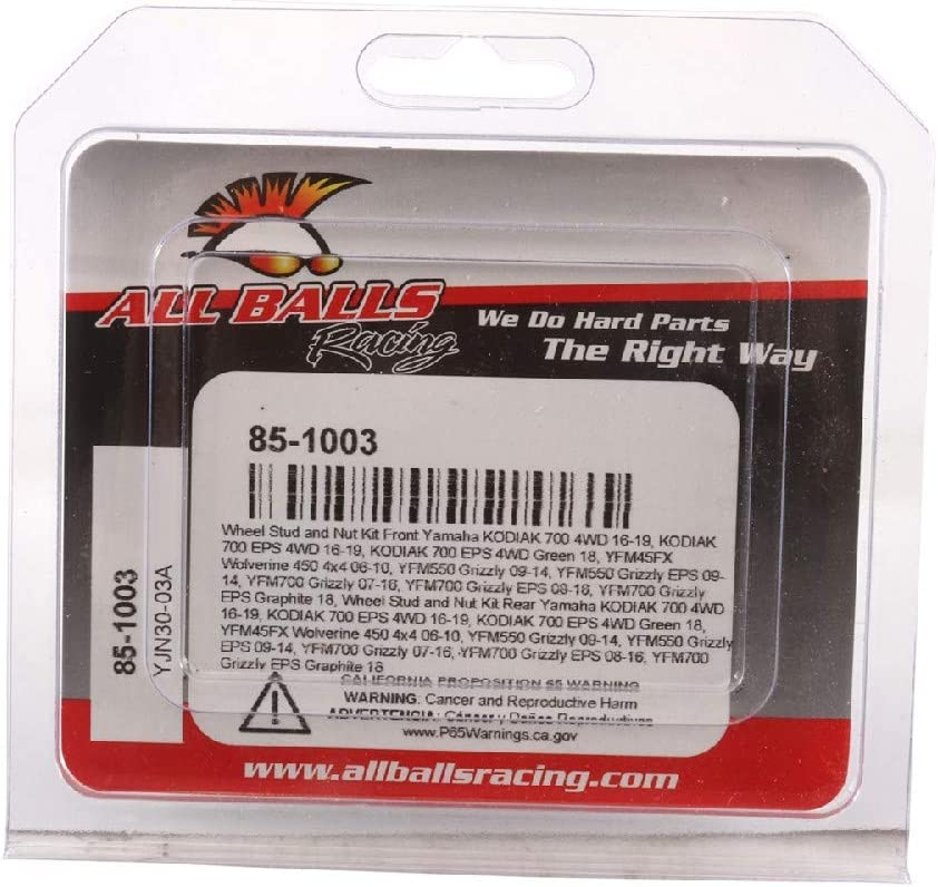 All Balls Racing 85-1003 Wheel Stud and Nut Kit