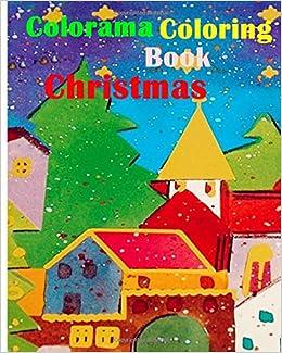 Amazon Colorama Coloring Book Christmas 9781519470959 John Dave Books