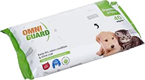 Omni Guard 40 Wipes For Cats & Dogs - 2725611600682