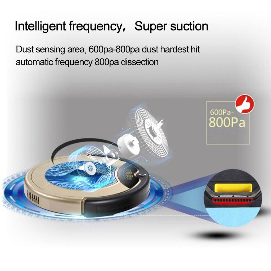 Haier T321 Aspiradora robot Smart Auto Vacuum microfibra de limpieza ...
