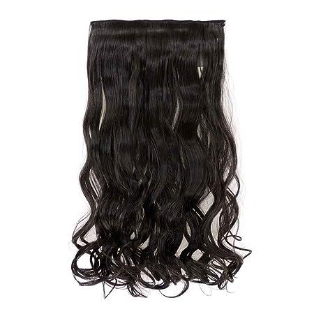 Babysbreath Ondulado cabello largo hinchable pelucas sin ...