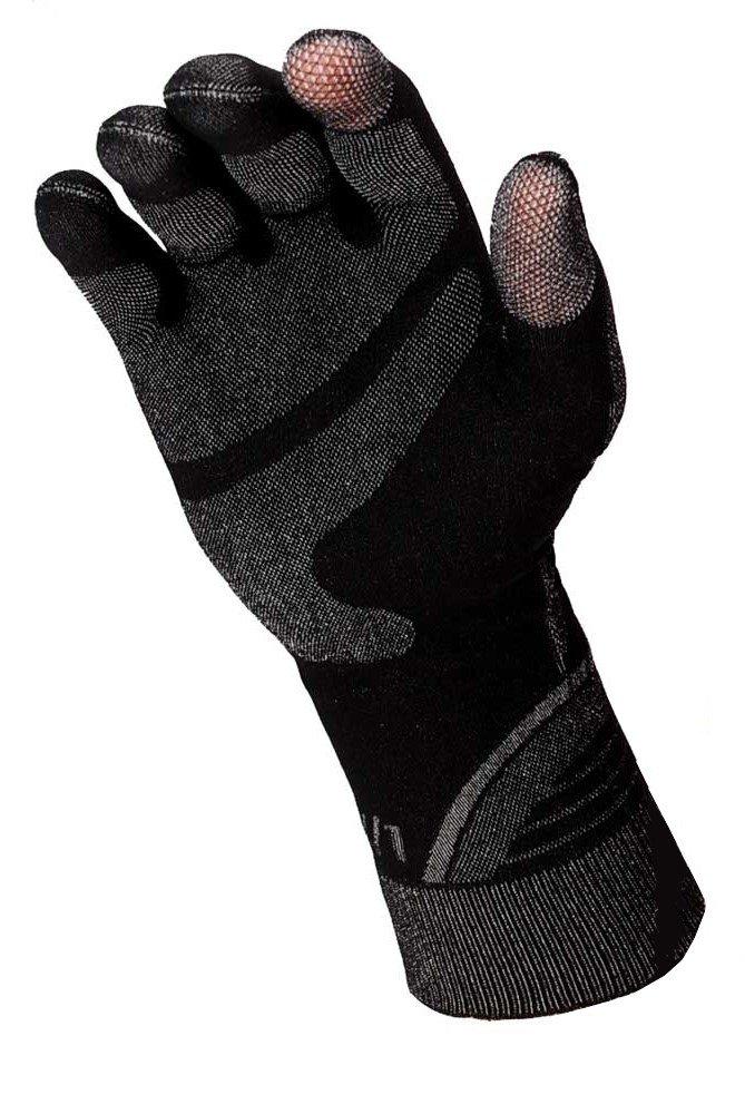 BRUBECK® WINTER THERMO BODYGUARD Handschuhe GE10010 Thermoaktiv Nahtlos Smartphone-Touchscreen-kompatibel