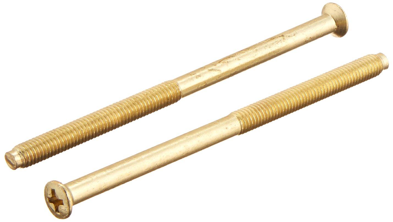 Design House 792978 Deadbolt Extension Kit, Polished Brass