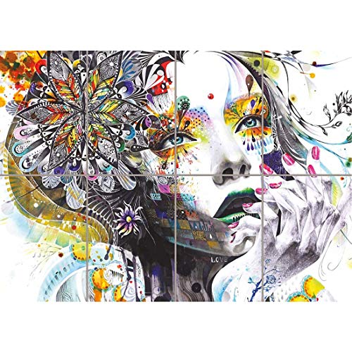 - Doppelganger33LTD PAINTING PSYCHEDELIC GIRL STREET NEW GIANT WALL ART PRINT PICTURE POSTER OZ448