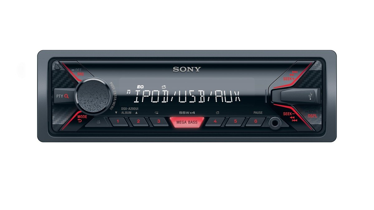 Sony DSX-A202UI Mechless Media Player with USB and Aux-in
