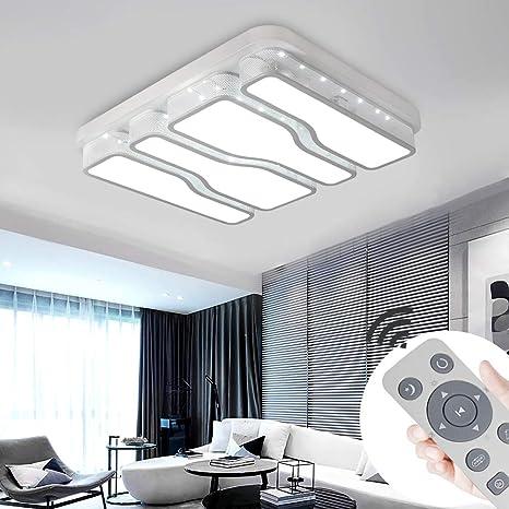 48W LED Deckenleuchte Dimmbar Deckenlampe Wohnzimmer Flur Schlafzimmer Lampe DHL