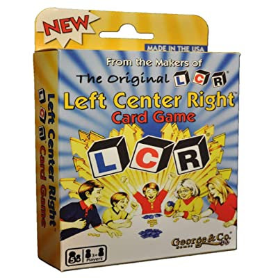 George GEO0531 & Company LCR Card Games: Toys & Games