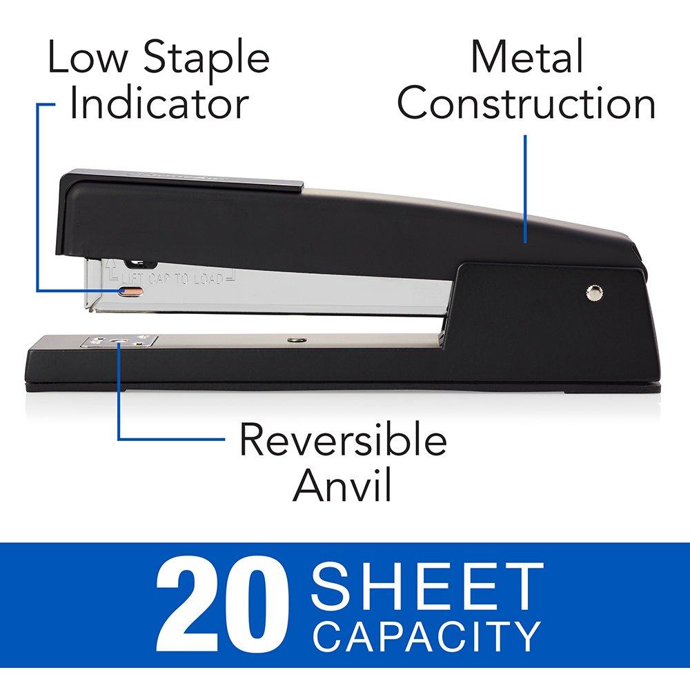 S7074724 20 Sheet Capacity Royal Blue Swingline 747 Classic Desk Stapler