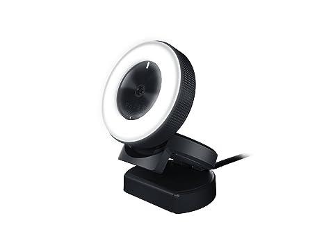 Razer kiyo telecamera da scrivania con illuminazione per