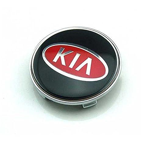 QiAo2018 4pcs W028 68 mm coche estilo accesorios emblema insignia pegatina tapacubos tapas Centro cubierta KIA