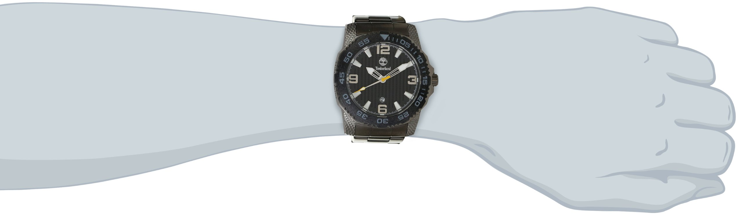 Timberland Men's 13613JSUB_02M 3 Hands Date Watch by Timberland (Image #3)