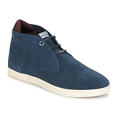 5746a53dc9 Pepe Jeans Bolton Baskets Mode Hommes Marine - 40 - Baskets Montantes