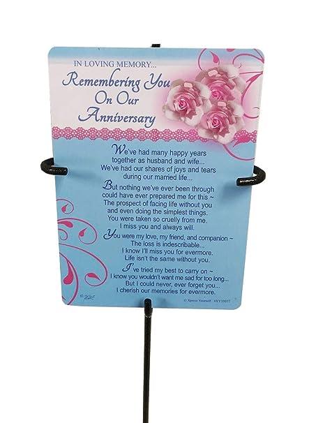 En memoria - recordando en nuestro aniversario - Sepultura/tarjeta ...