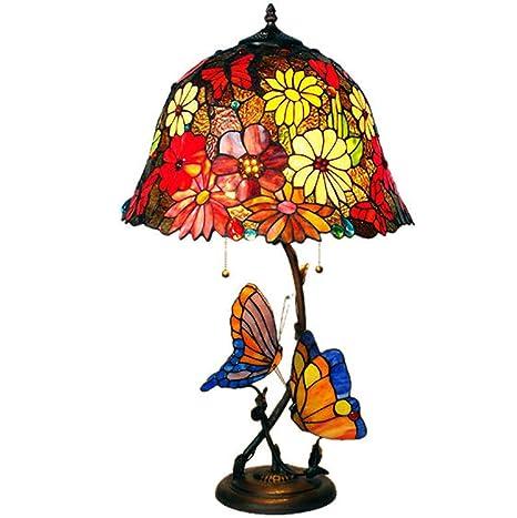 HHRONG Araña de luces16 Pulgadas Tiffany lámpara de Mesa ...
