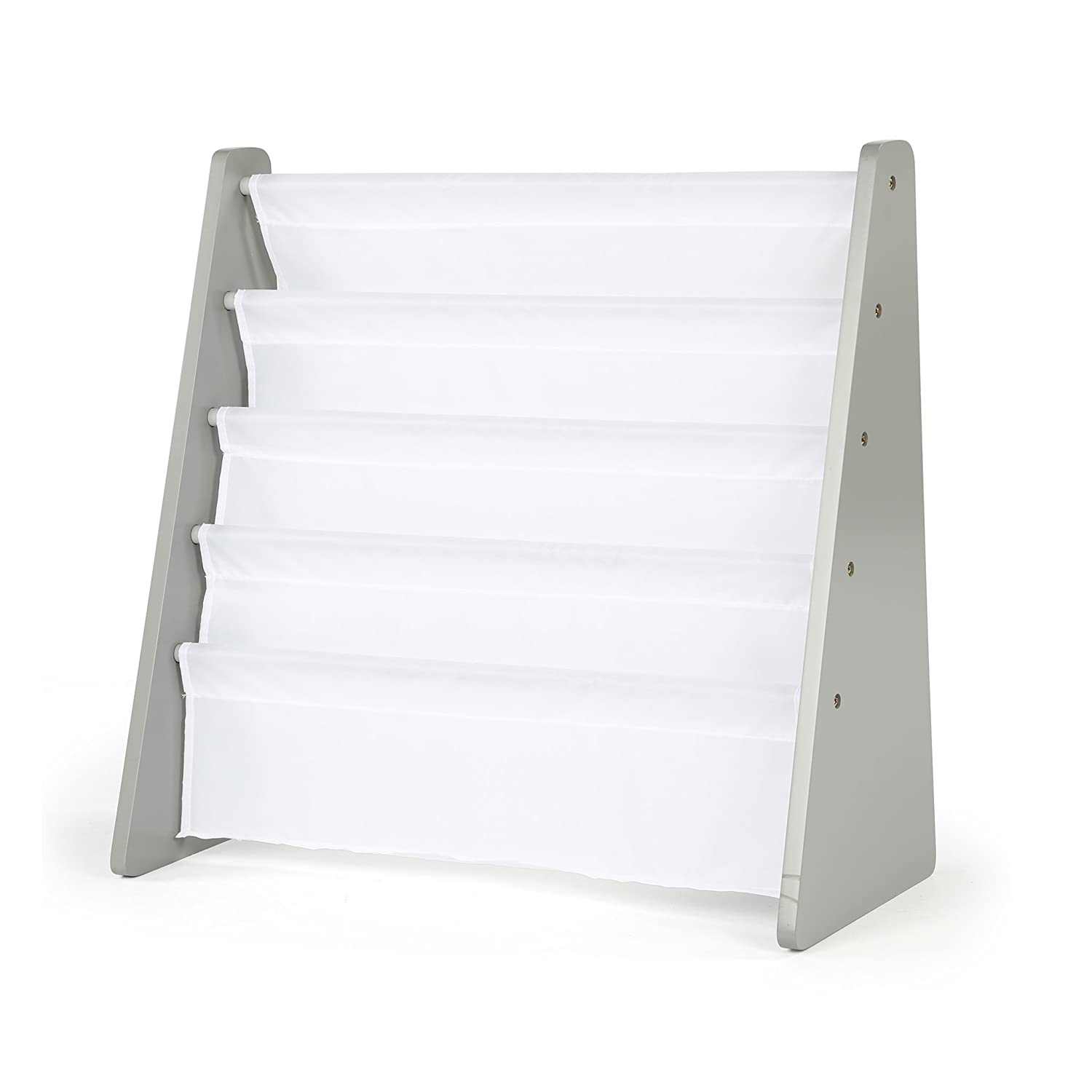 Stores Tot Tutors, Inc. WO671 Book Rack, Grey/White