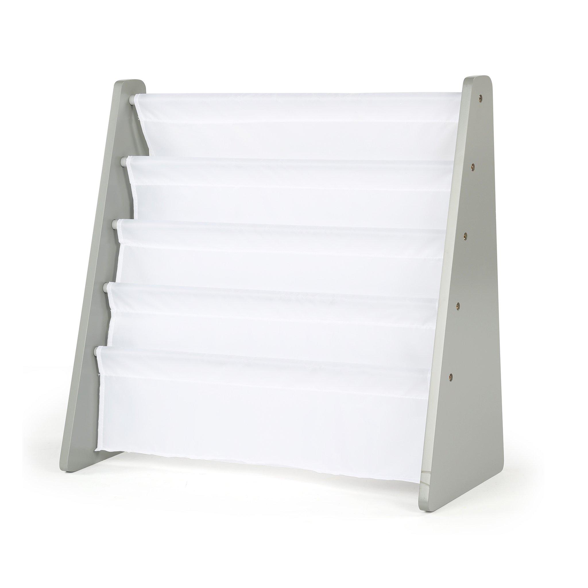 Tot Tutors WO671 Book Rack, Grey/White by Tot Tutors