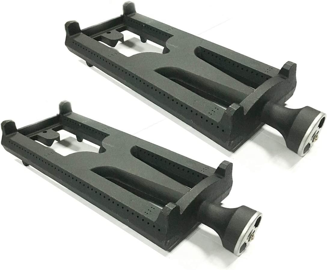 Bbqzone Lynx Burner Replacement, 2-Pack Cast Iron Burner Replacement for Select DCS and Lynx Gas Grill Models