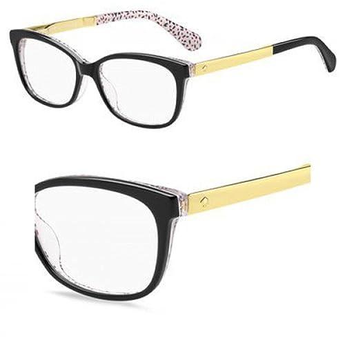 1bef458bd67e Kate Spade JODIANN Eyeglasses 0UYY Black Pattern Red 54-15-140:  Amazon.co.uk: Shoes & Bags