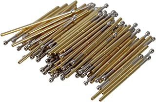 BQLZR Golden e Silver 0.68mm Lunghezza 16.55mm 75g P50-D2 Spring Sferica Test Sonde Pogo Pin Receptacle Confezione da 100