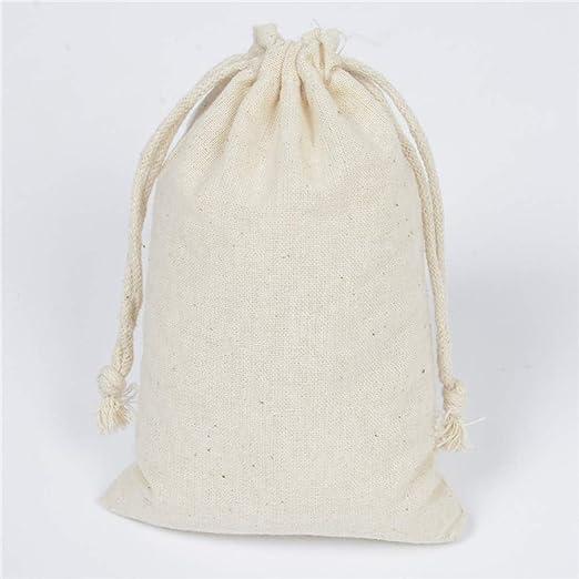 Bolsas de algodón de 30 Piezas con Bolsas de Regalo con cordón ...