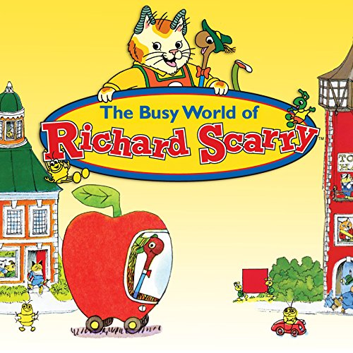 Amazon Com Busy World Of Richard Scarry Season 5 Keith