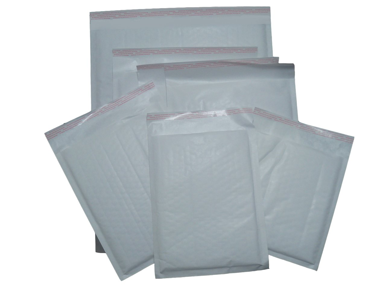 500 x JL4 G//4 White Padded Bubble Bags Envelopes 240x320mm EP7