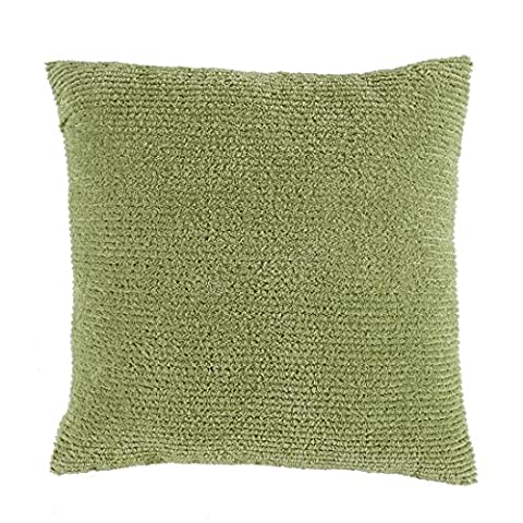 Brylanehome Chenille Toss Pillow (Sage,0) - Sage Green Chenille