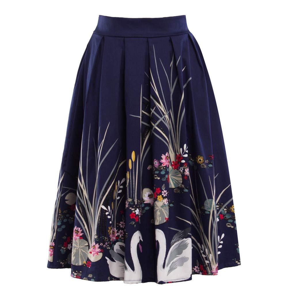 Falda Plisada Mujer - Falda Elástica Patinadora de Terciopelo de ...