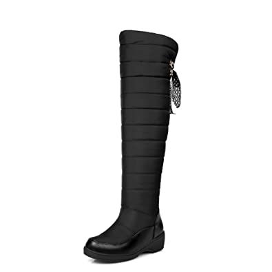 b36a261dd745 CHENSIR9 Large Size Snow Boots Waterproof Over The Knee Boots Thigh High  Boots Winter Shoes Women