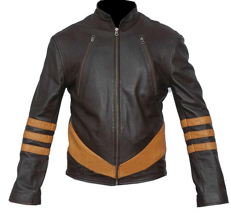 X-Men Wolverine Hugh Jackman Leather Jacket