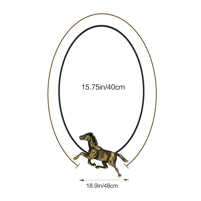 2 pi/èces Embrasses /à Rideau Animal avec Boucle Magn/étique en Alliage, D/écoration pour Fen/être, Maison, Bureau - Bronze, Chat Lewondr