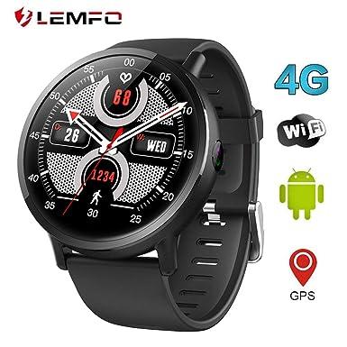 LEMFO LEMX Reloj Inteligente Teléfono 4G LTE - Pantalla Android 7.1 2.03
