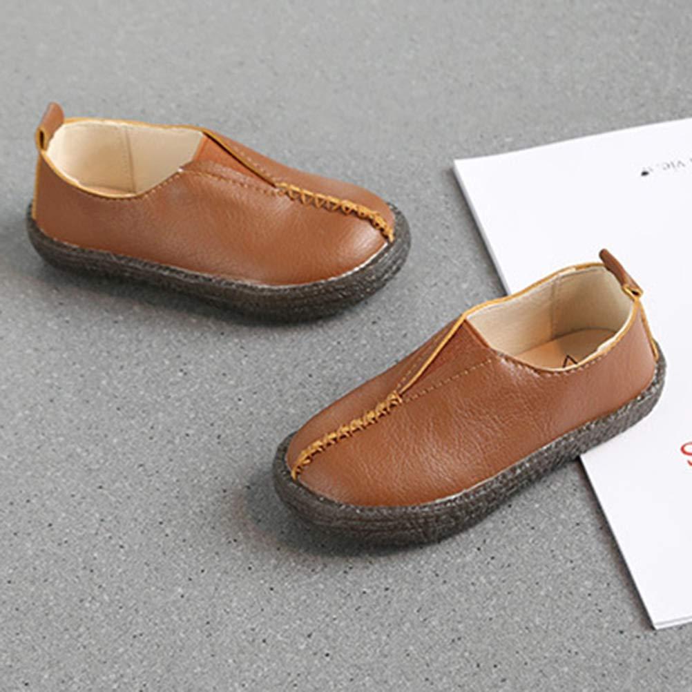 Abolai Kids Boys Soft Slip On Loafers Flat Shoes