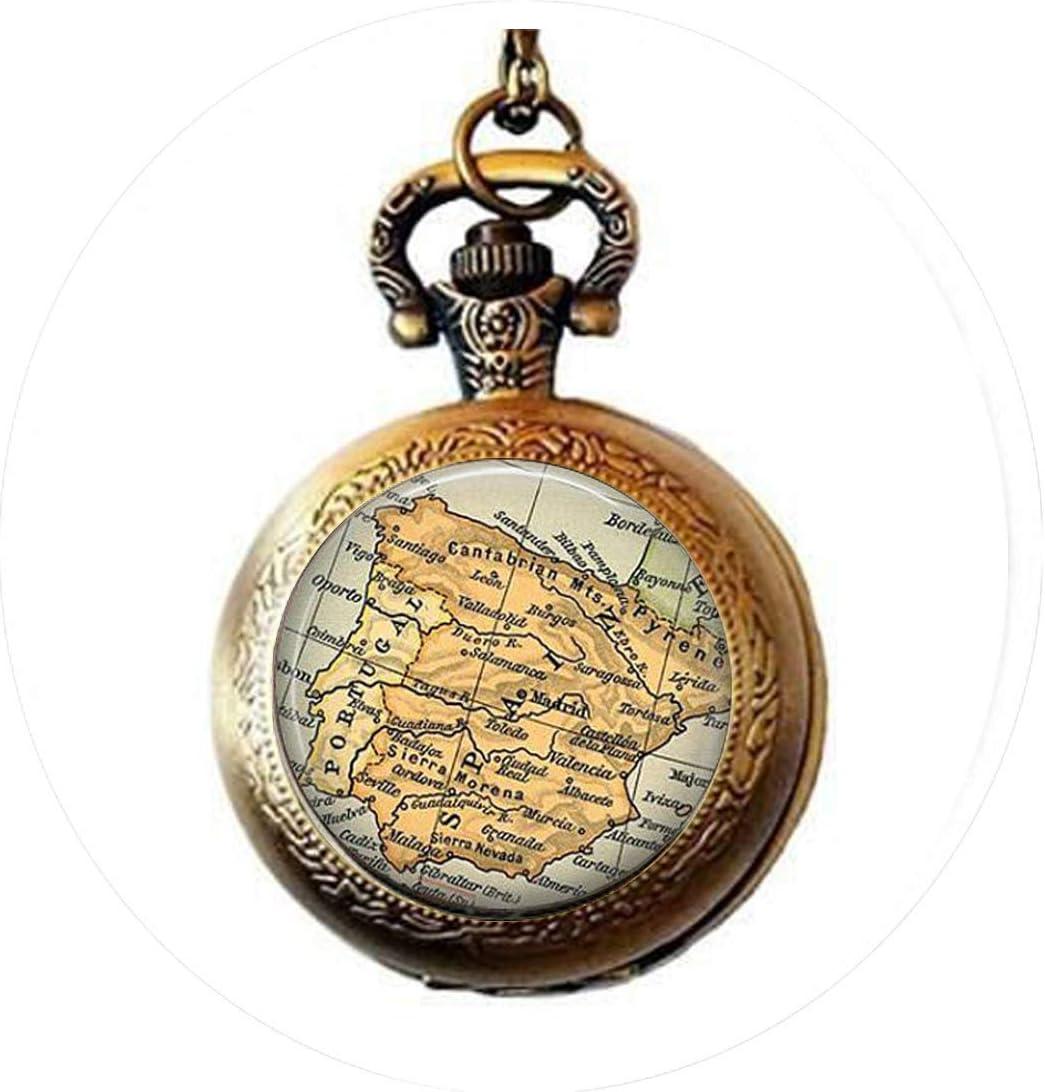 Abridor de botellas con diseño de mapa de España, estilo vintage, ideal como regalo personalizado: Amazon.es: Hogar