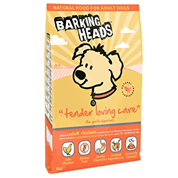 Barking Heads Dog Food Tender Loving Care Chicken 6 Kg Amazon Co