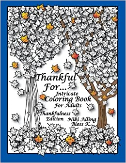Amazon Com Thankful For Intricate Coloring Book For Adults