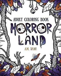 The Beauty Of Horror 1 A Goregeous Coloring Book Amazon Ca Alan