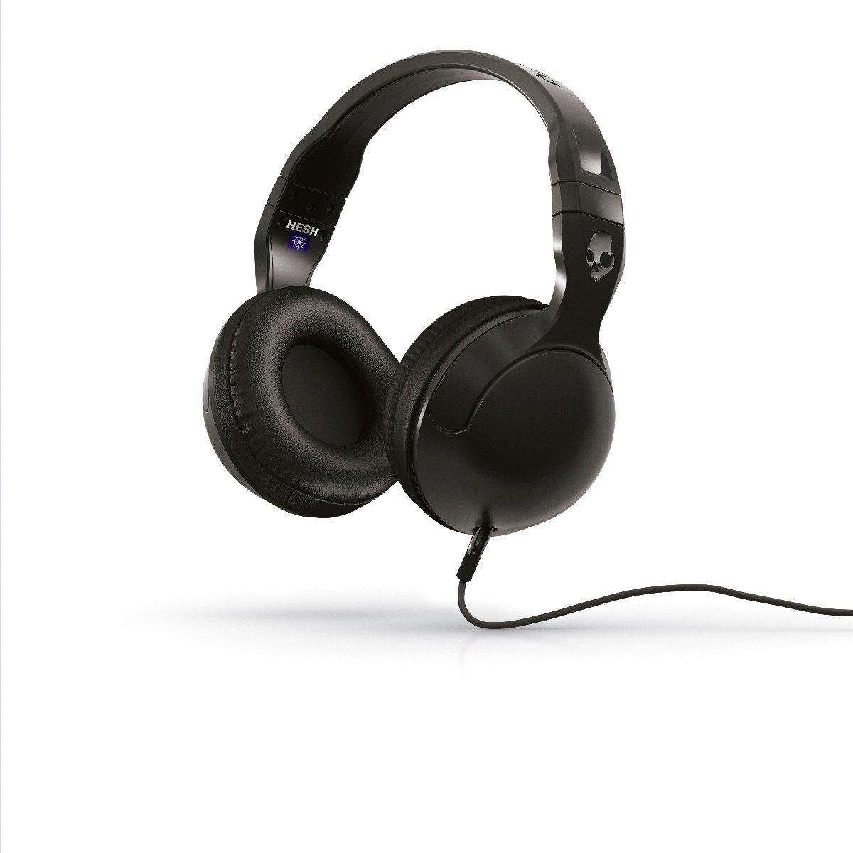 Skullcandy Hesh 2 Over-Ear Headphones with Mic, Black