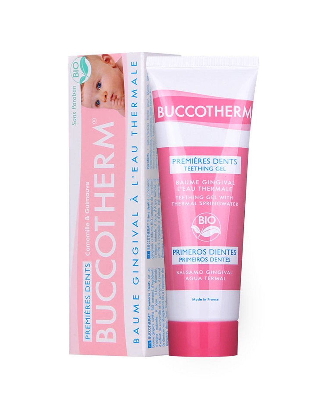 Buccotherm First Teeth Teething Gel with Thermal Springwater 50ml Laboratoire ODOST 5318A