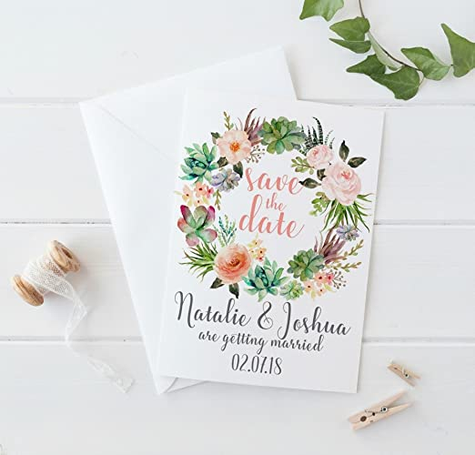 amazon com rustic save the date cards rustic save the date