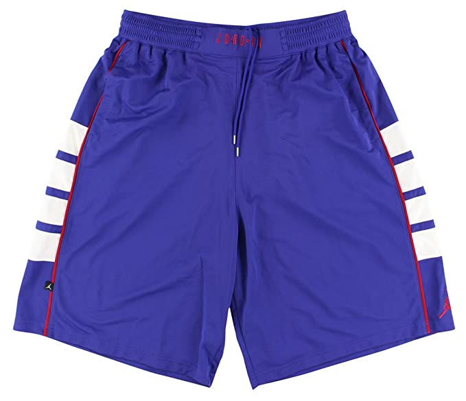 reputable site 5efae f0778 Jordan da Uomo Nike Air Cat Scratch Basketball Shorts 589345 Viola 423  Purple Medium Amazon.it Abbigliamento