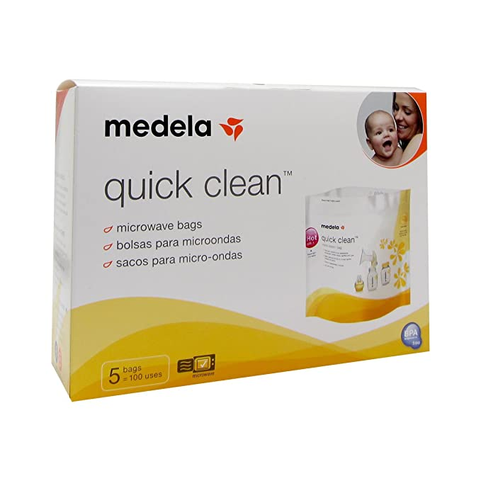 Bolsas para microondas Medela Quick Clean (5 unidades ...