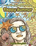 Color By Numbers Coloring Book for Adults of Happy Summer: A Summer Color By Number Coloring Book for Adults With Ocean Scenes, Island Dreams ... Color By Number Coloring Books) (Volume 33) by