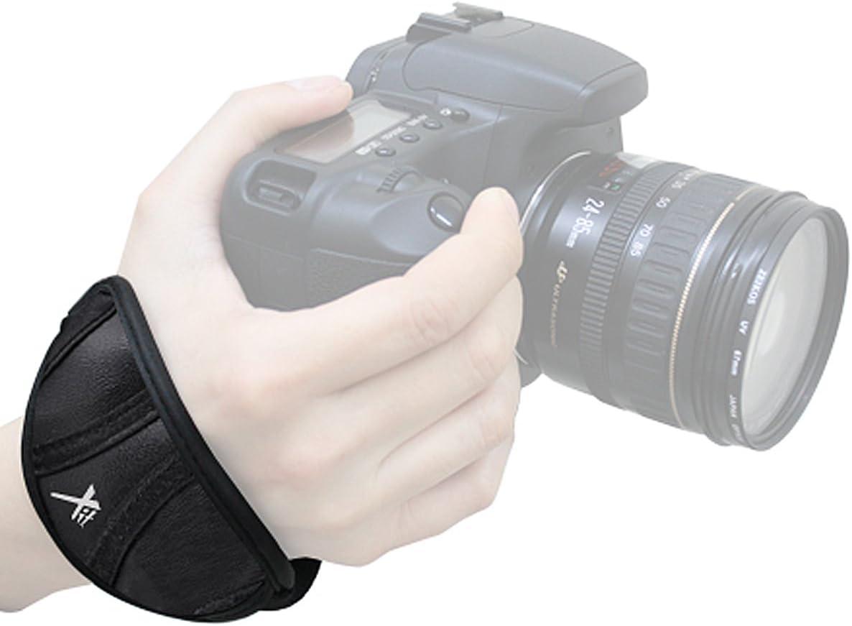 Xit XTWRIST Professional Wrist Grip Strap Black