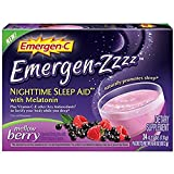 Emergen-C Emergen-zzzz Nighttime Sleep Aid with Melatonin, Mellow Berry 24 ea (Pack of 5) Review
