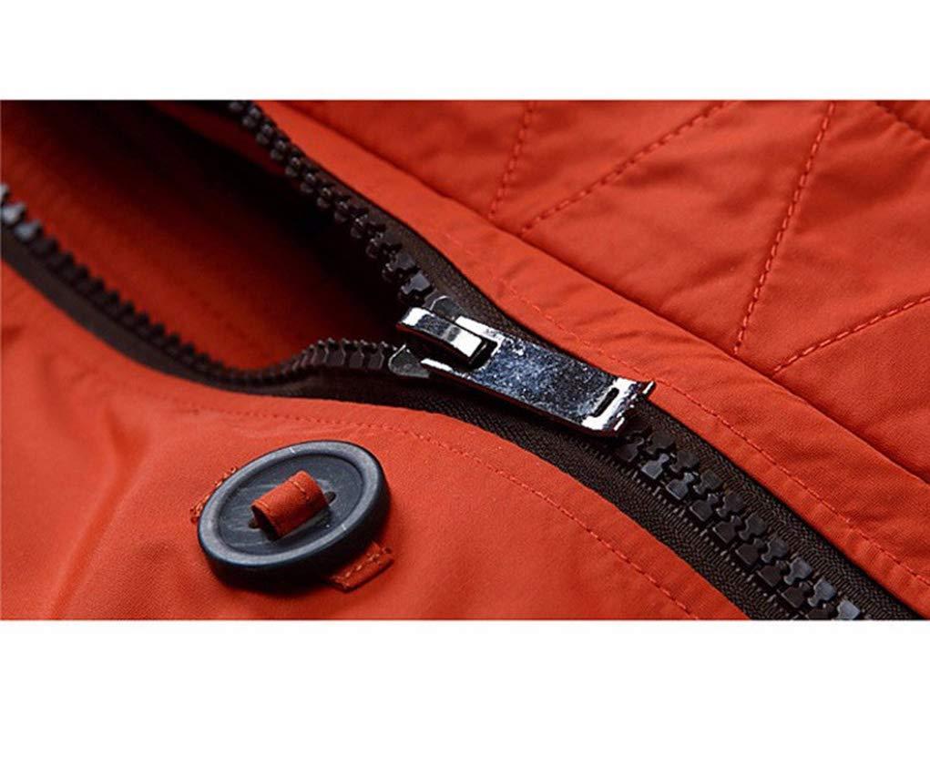Hyvaluable Herren Jacken Kleidung Jacken dick halten warme M/änner ist Daunenjacke hochwertige Pelzkragen mit Kapuze Daunenjacke Winter Mantel m/ännlich