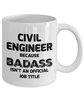Amazon com: Civil Engineer Mug - Civil Engineer - Because