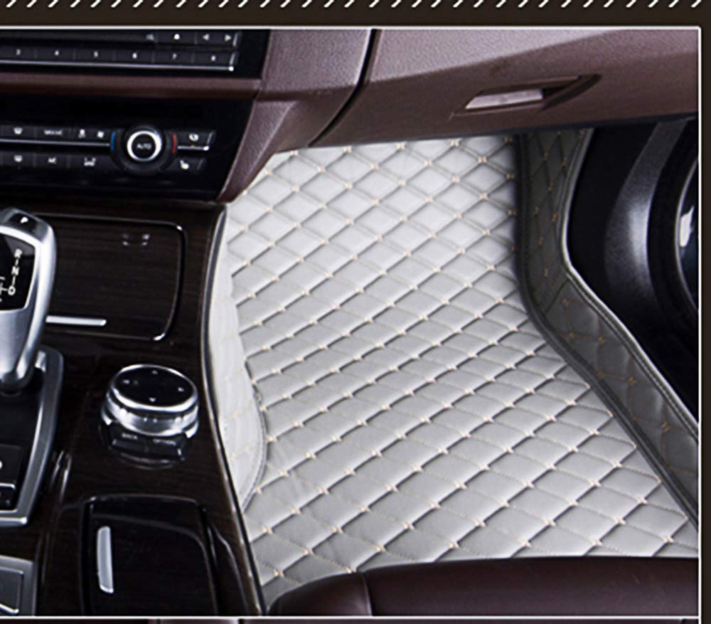 Summir Fit for Audi Q5 2012-2016 Leather Car Floor Auto Mats Waterproof Mat Non Toxic and inodorous/ Brown