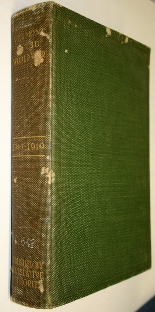 Vermont In The World War 1917 1919 Cushing John T Amazon Com Books